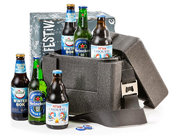 Biergeschenk Chill Fun Cooler