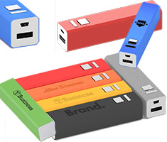 Powerbank in diverse kleuren