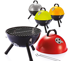 Barbecue in rood, groen, oranje of zilver