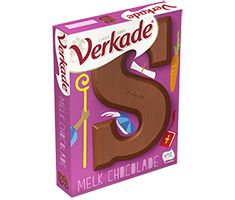 Fairtrade - Verkade chocoladelette 65 gram