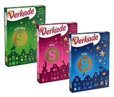 Fairtrade - Verkade chocoladeletter 135 gram